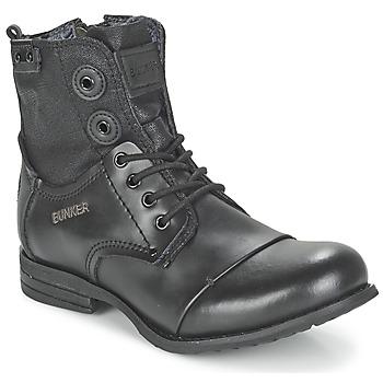 Schuhe Damen Boots Bunker SARA Schwarz