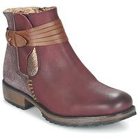 Schuhe Damen Boots Bunker TAYLOR Bordeaux