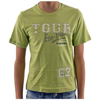 Kleidung Kinder T-Shirts Diadora T-shirtt-shirt Grün