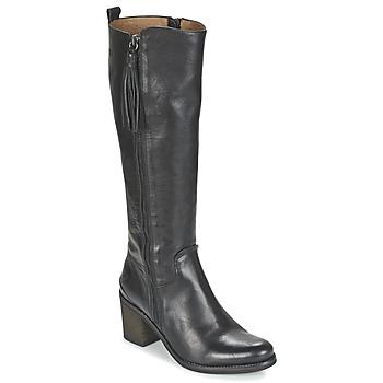 Schuhe Damen Klassische Stiefel Coqueterra SHEILA Schwarz