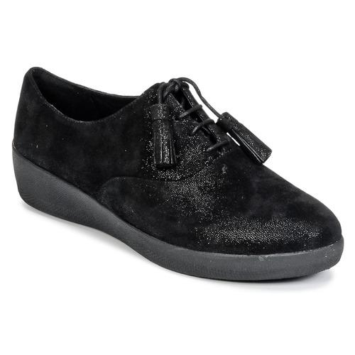 FitFlop CLASSIC TASSEL SUPEROXFORD Schwarz  Schuhe Derby-Schuhe Damen 103,20