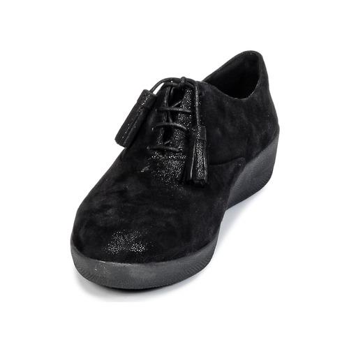 FitFlop CLASSIC TASSEL SUPEROXFORD Schwarz 103,20  Schuhe Derby-Schuhe Damen 103,20 Schwarz d8b766