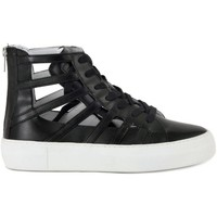 Schuhe Damen Sneaker High Cult LOVE MID 1074 Nero
