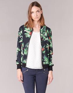 Kleidung Damen Jacken / Blazers Moony Mood MIBOU Marine / Grün
