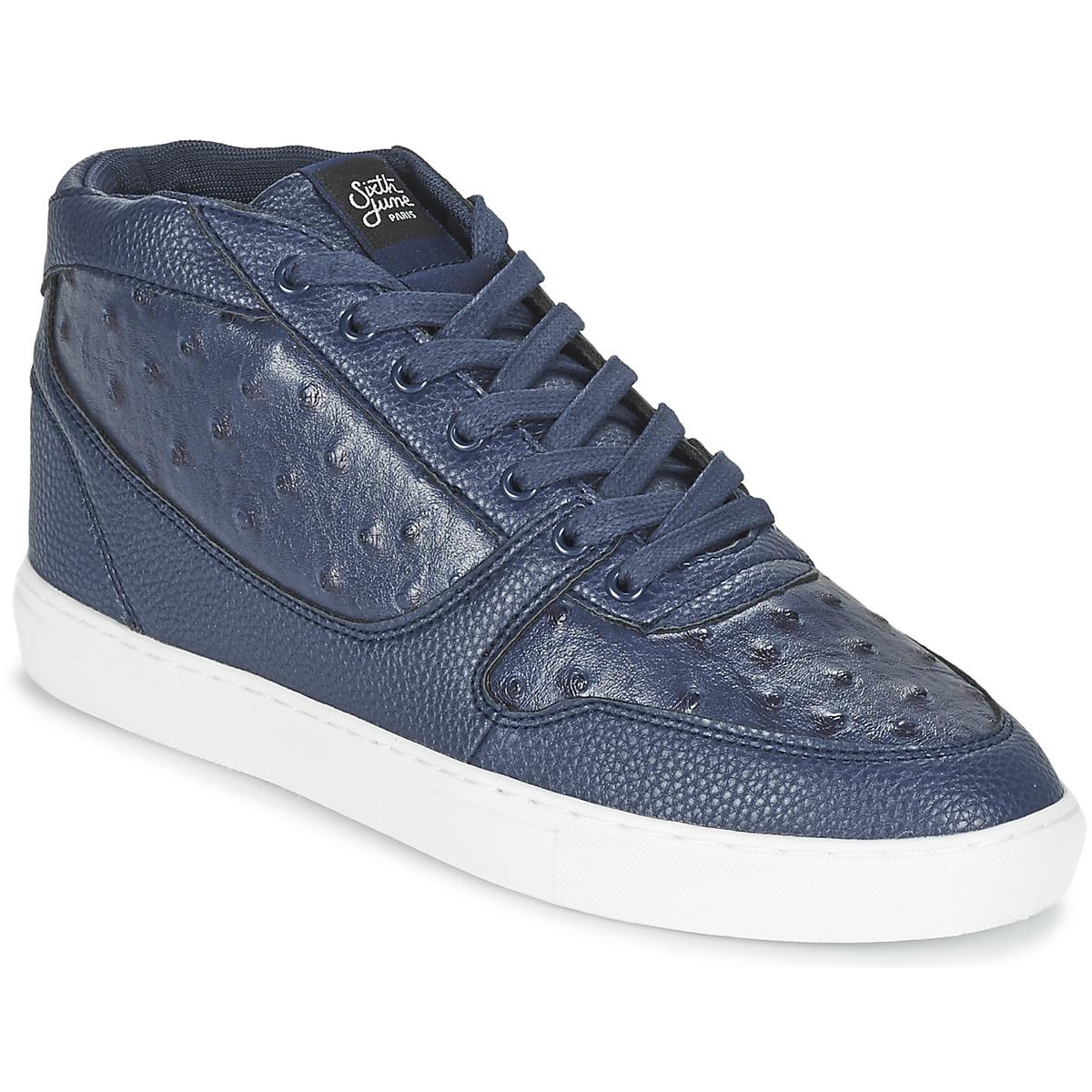 Sixth June NATION PEAK Marine - Kostenloser Versand bei Spartoode ! - Schuhe Sneaker High Herren 65,90 €