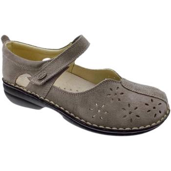 Schuhe Damen Ballerinas Calzaturificio Loren LOM2313ta tortora