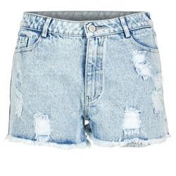 Kleidung Damen Shorts / Bermudas Yurban EVANUXE Blau