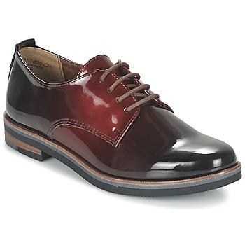 Schuhe Damen Derby-Schuhe Marco Tozzi TREFLO Rot