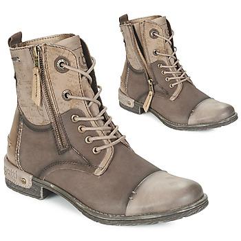 Schuhe Damen Boots Bugatti DREMALO Braun / Gold