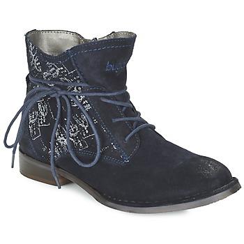 Schuhe Damen Boots Bugatti LEEALE Marine