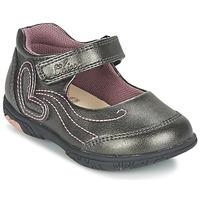Schuhe Mädchen Ballerinas Chicco CINDRA Grau