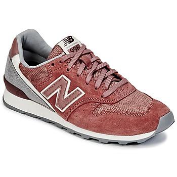 Schuhe Damen Sneaker Low New Balance WR996 Rot