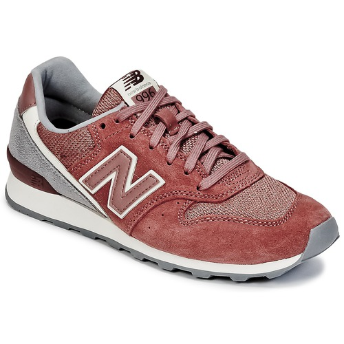 New Balance WR996 Rot - Schuhe Sneaker Low Damen 75,90