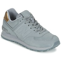 Schuhe Damen Sneaker Low New Balance WL574 Grau