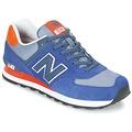 Schuhe Sneaker Low New Balance ML574 Marine / Orange