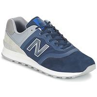 Schuhe Sneaker Low New Balance MTL574 Blau / Grau