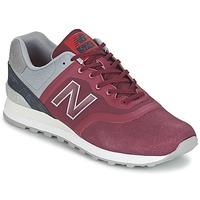 Schuhe Sneaker Low New Balance MTL574 Rot / Grau
