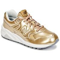 Schuhe Damen Sneaker Low New Balance WRT580 Gold