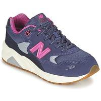 Schuhe Mädchen Sneaker Low New Balance KL580 Violett / Rose