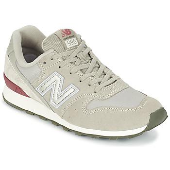 Schuhe Damen Sneaker Low New Balance WR996 Grau