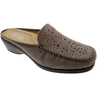 Schuhe Damen Pantoffel Calzaturificio Loren LOK3953ta tortora