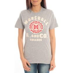 Kleidung Damen T-Shirts Sweet Company T-shirt Marshall Original M and Co 2346 Gris Grau
