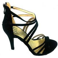 Schuhe Damen Sandalen / Sandaletten Cassis Côte d'Azur Sandales Multibrides ouvert Noir Oria Schwarz