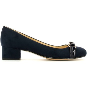 Schuhe Damen Ballerinas Grace Shoes 6005 Ballerinas Frauen Blau Blau