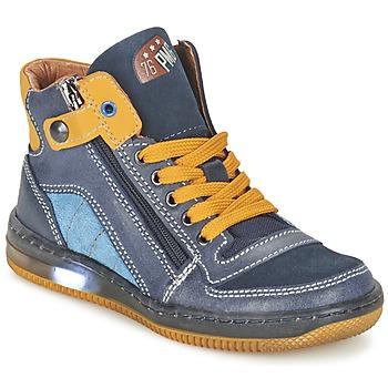 Schuhe Jungen Sneaker High Primigi ADAM-E Blau / Gelb