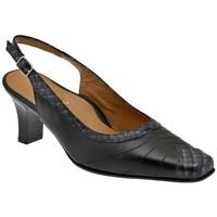 Schuhe Damen Pumps Bettina 8840 T.60 Court Schuhband ist plateauschuhe