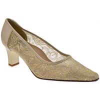Schuhe Damen Pumps Bettina 9229 Transparent T.60 Court Schuh ist plateauschuhe