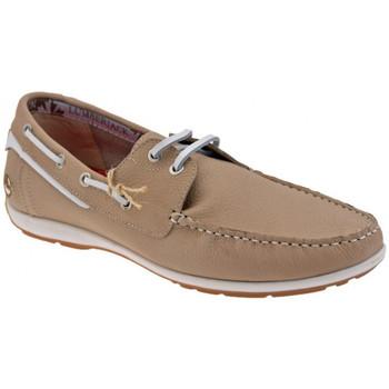Schuhe Herren Bootsschuhe Lumberjack Step mokassin halbschuhe Beige