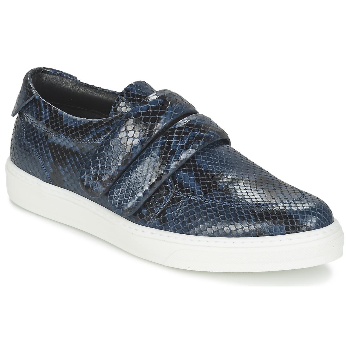Sonia Rykiel SPENDI Blau / Schwarz - Kostenloser Versand bei Spartoode ! - Schuhe Sneaker Low Damen 164,50 €