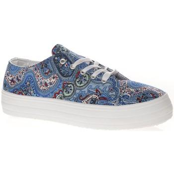 Schuhe Damen Sneaker Low Cassis Côte d'Azur Cassis cote d'azur Basket Pablo Bleu Blau
