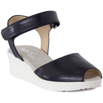 Sandalen / Sandaletten Melluso SANDALO ARC NOTTE