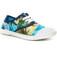 Schuhe Damen Sneaker Low Cassis Côte d'Azur Cassis cote d'azur Basket Dyonise Bleu Blau