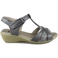 Schuhe Damen Sandalen / Sandaletten Yio VIKY GRAU