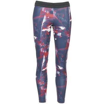 Kleidung Damen Leggings adidas Originals FLOWER TIGHT Blau / Rose