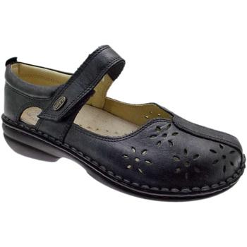 Schuhe Damen Ballerinas Calzaturificio Loren LOM2313gr grigio
