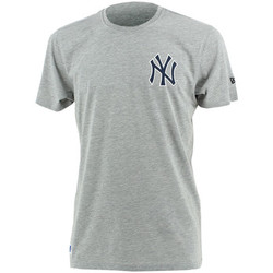 Kleidung Herren T-Shirts New Era MLB New York Yankees tee Grau