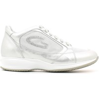 Schuhe Damen Sneaker Low Alberto Guardiani SD56371B Shoes with laces Frauen Silver Silver