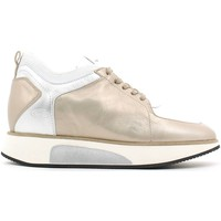 Schuhe Damen Sneaker Low Alberto Guardiani SD56545D Shoes with laces Frauen Silver Silver