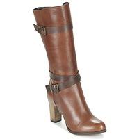Schuhe Damen Klassische Stiefel Lola Espeleta REINETTE Cognac