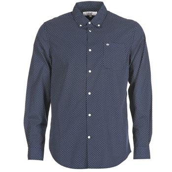 Kleidung Herren Langärmelige Hemden Vicomte A. JANOUPE Marine