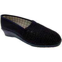 Schuhe Damen Hausschuhe Davema DAV212bl blu