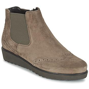 Schuhe Damen Low Boots Ara ZIMLA Braun