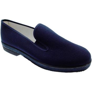 Schuhe Herren Hausschuhe Davema DAV050b blu