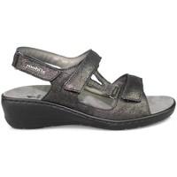 Schuhe Damen Sandalen / Sandaletten Mephisto JASMINE SCHWARZ