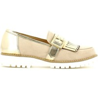 Schuhe Damen Slipper Grace Shoes 5276 Mocassins Frauen Beige