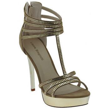 Schuhe Damen Sandalen / Sandaletten Laura Biagiotti SandaloGioielloPlateausandale Multicolor